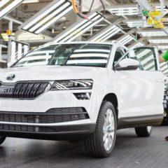 Meilenstein früher denn je erreicht: Bereits eine Million SKODA Fahrzeuge in 2017 produziert
