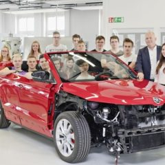 Fünftes SKODA Azubi Concept Car kurz vor Premiere