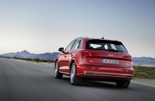 Audi-Absatz im Mai 2018 leicht über Vorjahr